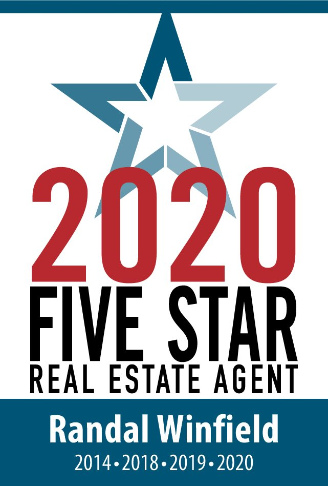 2020 Five Star Real Estate Agent Award